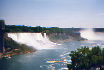 ナイアガラの滝 カナダから撮影